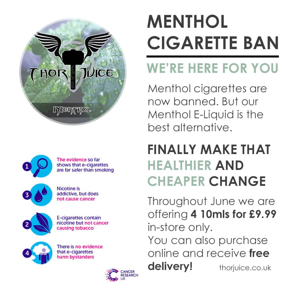 menthol cigarette ban alternatives