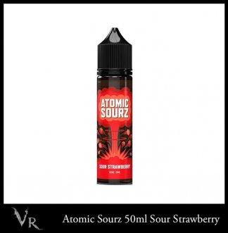 sour strawberry e liquid by atomiz sourz