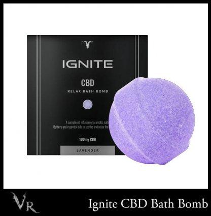 cbd bath bomb 100mg relaxing ignite