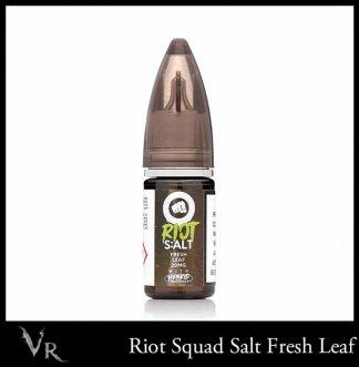 riot squad salt fresh leaf