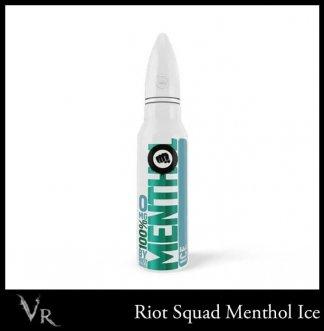 riot squad 100% menthol ice