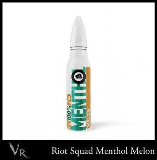riot squad 100% menthol melon