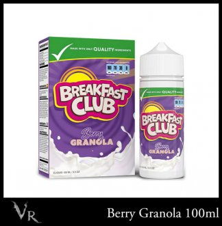 breakfast club e-liquid berry granola