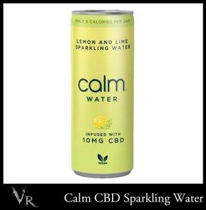 lemon and lime cbd sparkling water