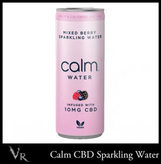 mixed berry cbd sparkling water