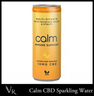 orange mutivitamin cbd water