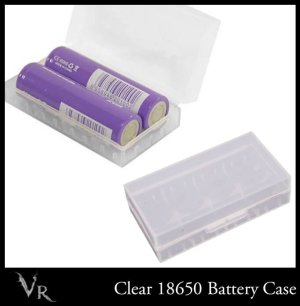 Clear battery case