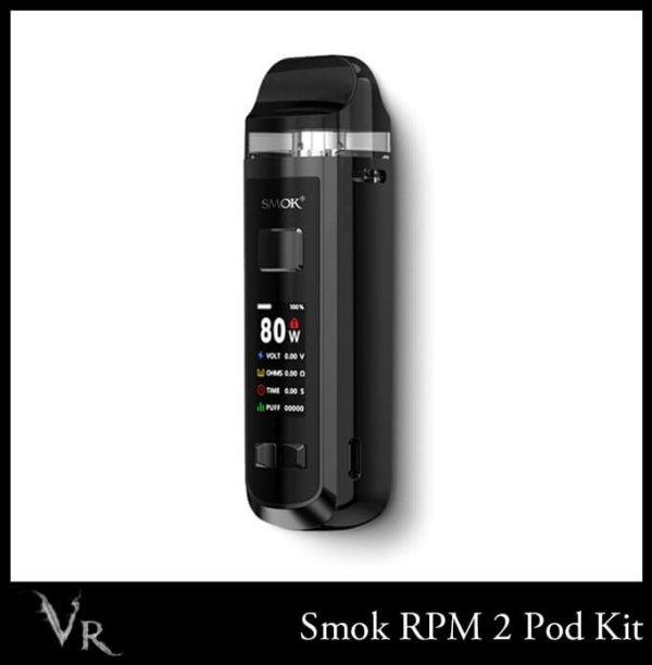 smok rpm 2 pod kit in black