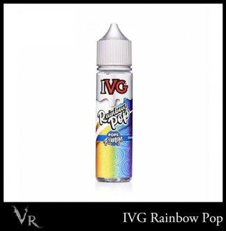ivg 50ml eliquid rainbow pop