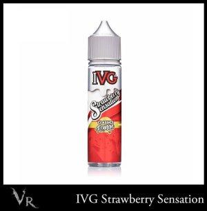 strawberry sensation ivg eliquid 50ml