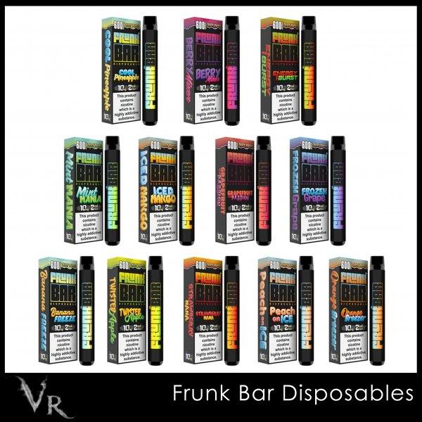 frunk bar disposable vape